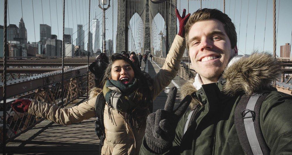 Joss and Janik in NY