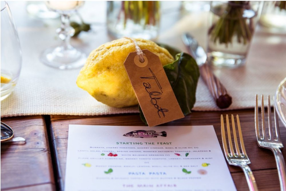 SOUTHERN ITALIAN FEAST - CHILLED WEDDING VIBES