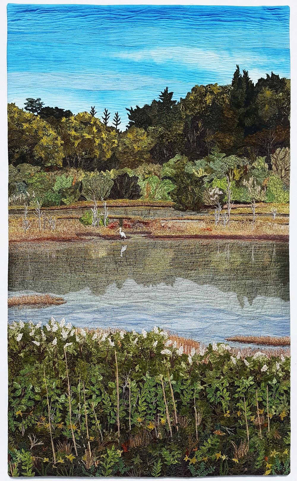 Salt Marsh Egret Sue Colozzi - Reading, MA