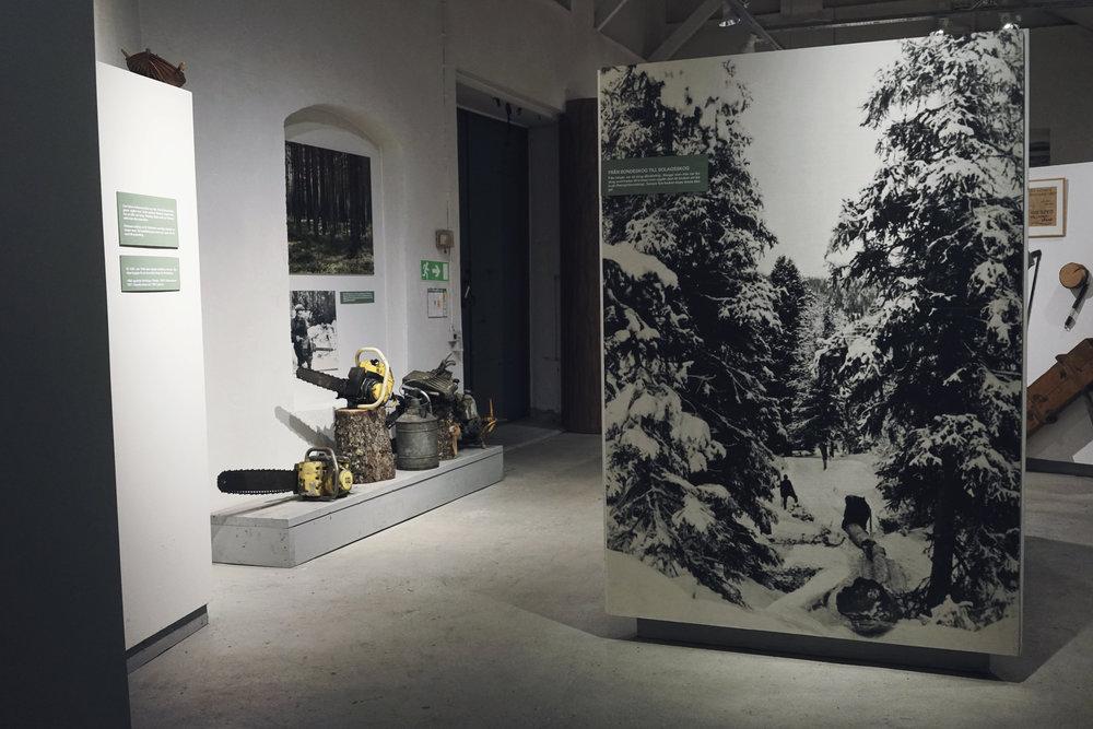 Kol/skogs-utställningen