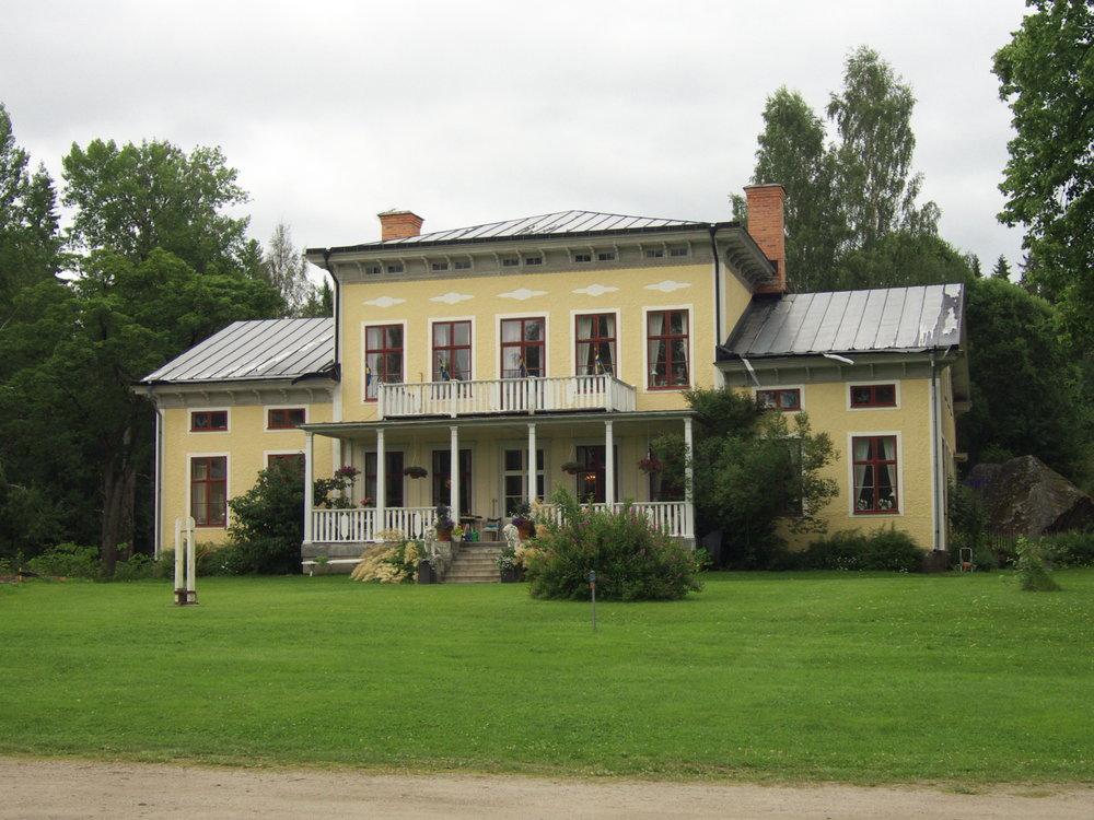 Strömbacka herrgård.