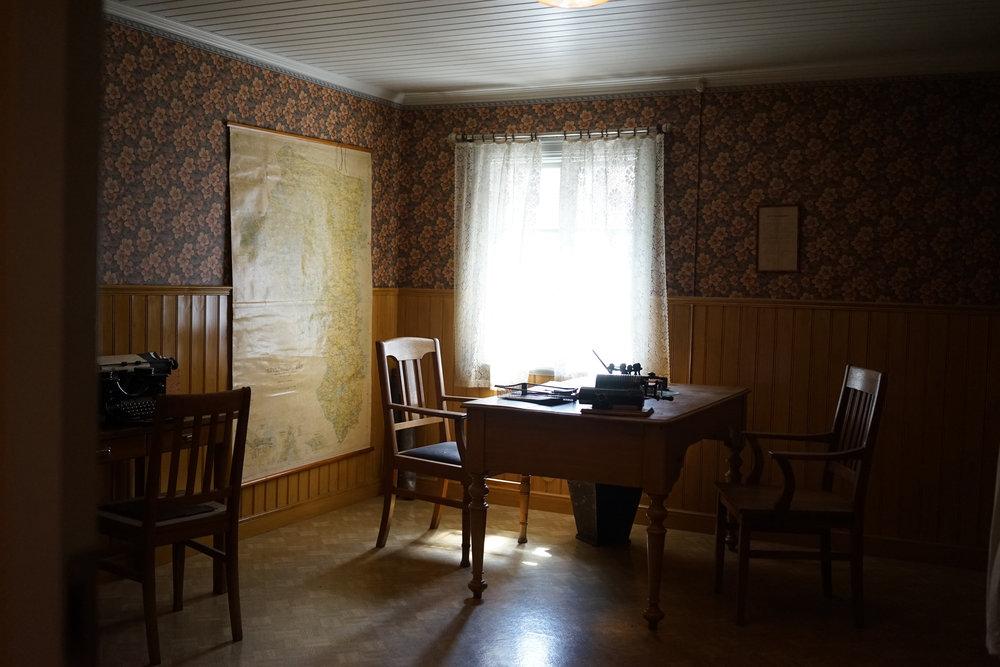 Skogsvaktarkontor 1890-talet