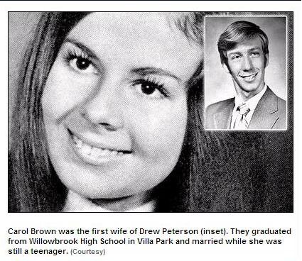 Carol Brown and Drew Peterson