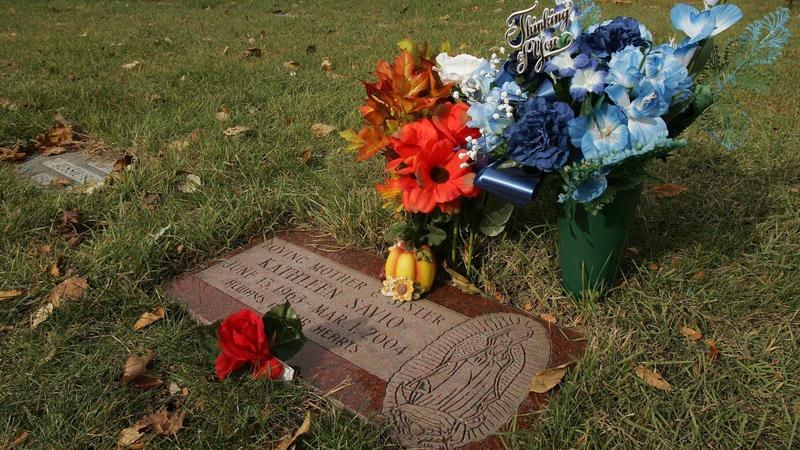 Kathleen's grave