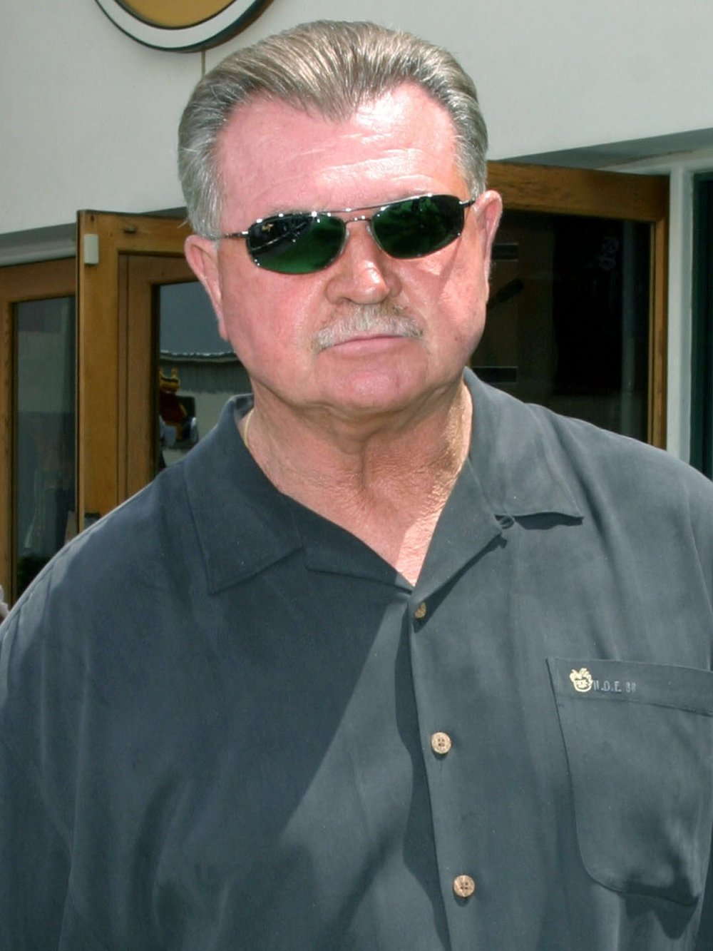 Mike Ditka also resembles prosecutor James Glasgow