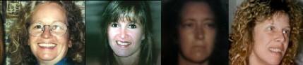 Teri Brandt, Michelle Jones, Sherry Parish, Darlene Toler