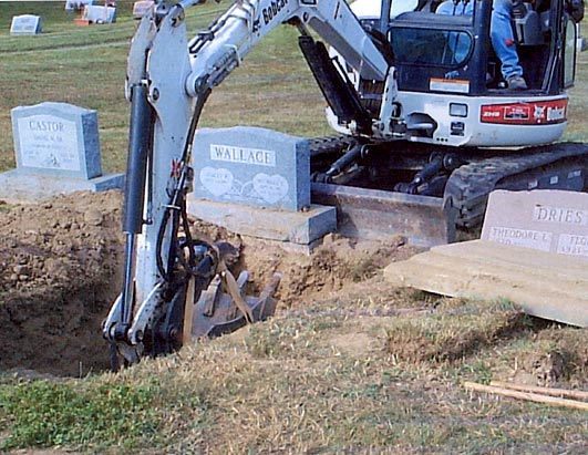 Exhumation of Mike Wallace