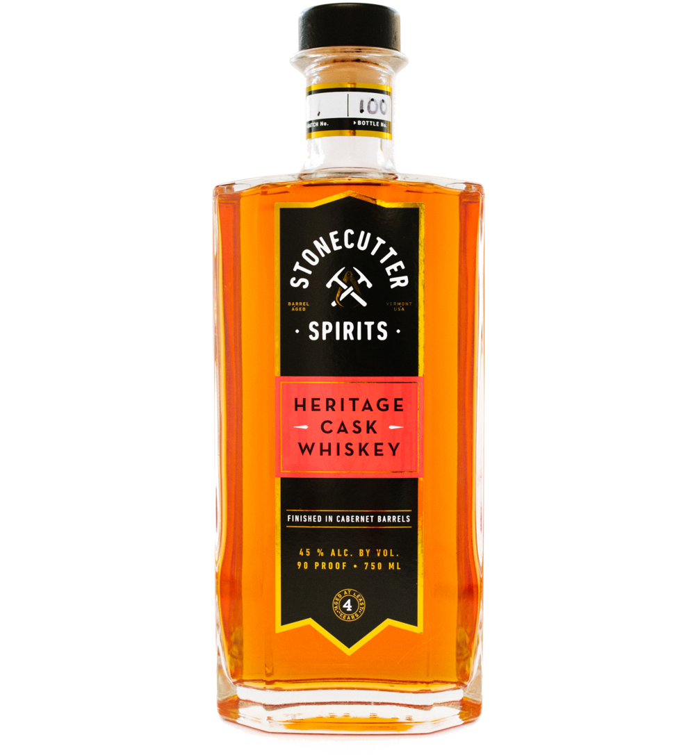 Stonecutter Spirits Vermont Distillery Heritage Cask Whiskey