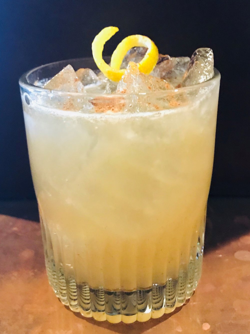 the sour vermonter cocktail