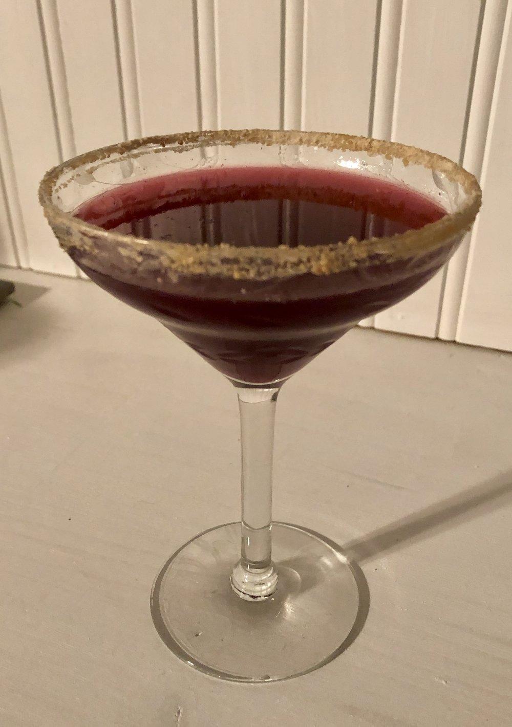 Sugar House Widow cocktail