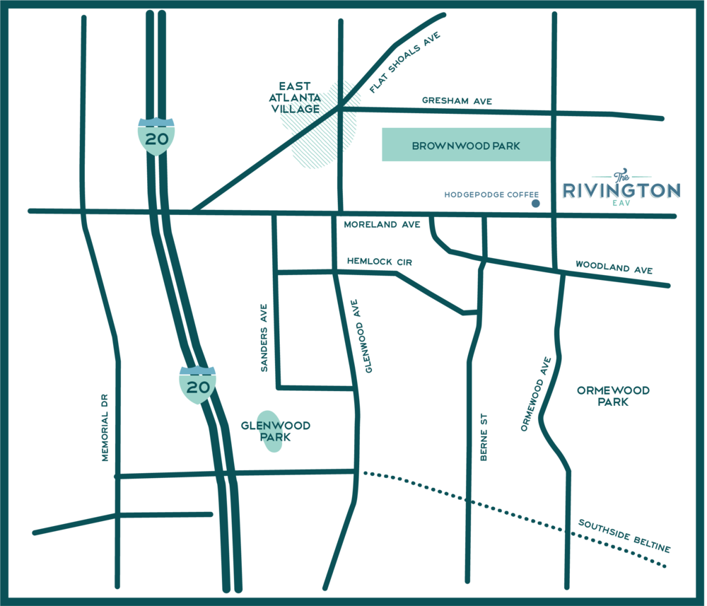 The Rivington Map