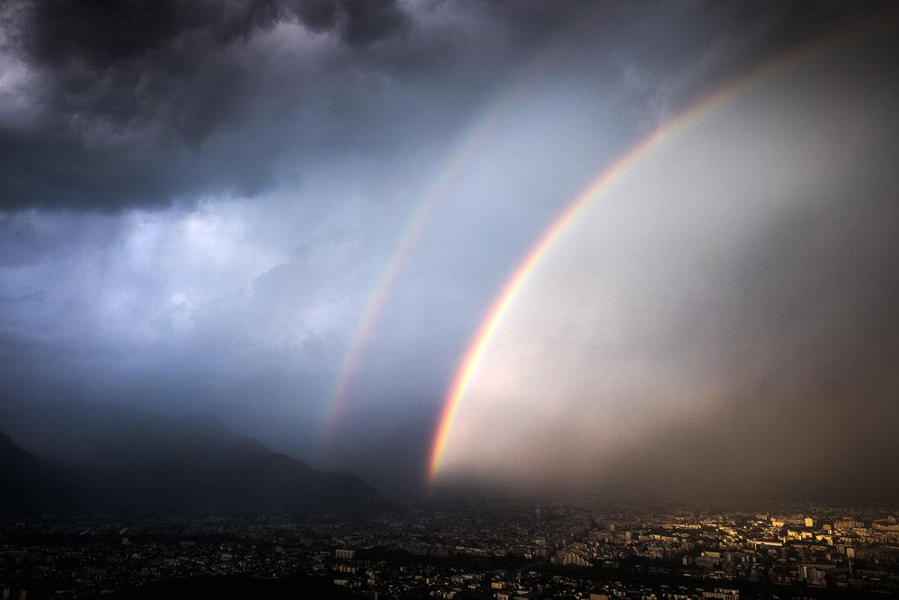 Grenoble sous la tempête - Juillet
