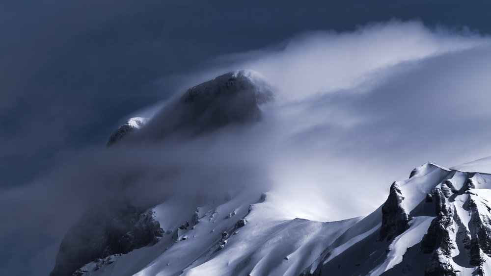 Le Grand Ferrand - 2758m - Décembre