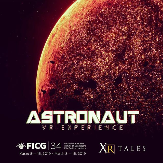 XR Tales proudly presents Astronaut a VR horror experience in the depths of  space! #xrtales #virtualreality #ficg34 #space #experience