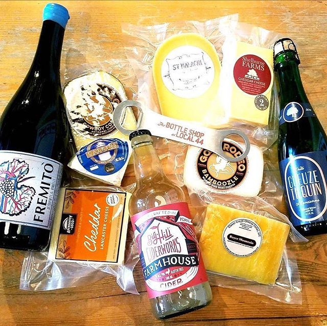 Tomorrow night from 6-8pm come and get to know some of the not-liquid goodies we stock at the Bottle Shop at Local 44! Ann and her @thirdwheelcheeseco cheeses will be in the house — enjoy samples, pairing notes, and plenty of cheese talk! Don't miss out!