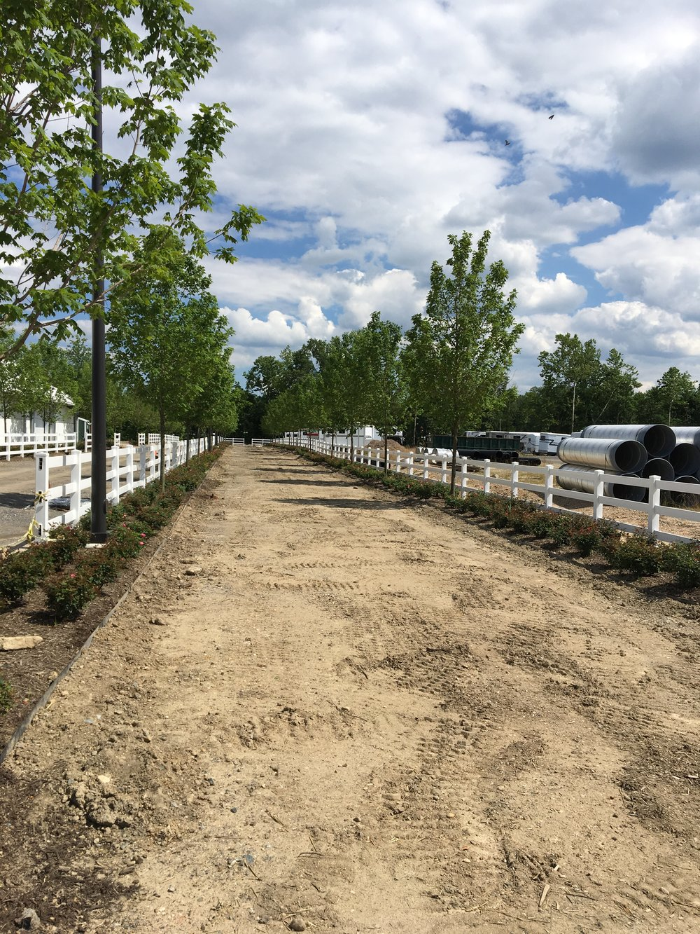 Laurel Race Track Commercial Project by Bay Engineering
