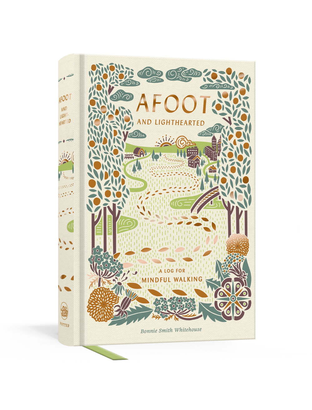 A guided journal for people seeking new ways to unplug, get active, inspire creativity, cultivate mindfulness, and improve well-being. - Afoot and Lighthearted is the first interactive journal of its kind for walkers who want to expand their physical and creative worlds through acts of mindfulness. Afoot and Lighthearted will teach readers how to harness the power of walking to cultivate and nourish attention, inspiration, and determination, as well as to combat distraction, anxiety, and the dreaded creative block. Organized around thematic prompts designed to help makers take a break from digital life and tap into the transformational magic of creative journaling, Afoot and Lighthearted introduces us to innovative walkers throughout literature, art, philosophy, and history, and it offers encouragement in the form of inspirational quotes. Supported by light illustrations and evidence from recent research on the compelling connection between walking and well-being, Afoot and Lighthearted offers a fresh perspective every step of the way, much like a walk itself.Pick up a copy today at your favorite independent bookstore! Mine happens to be Parnassus Books in Nashville, Tennessee.Afoot and Lighthearted is also available at Amazon, Barnes and Noble, Target, and Walmart.