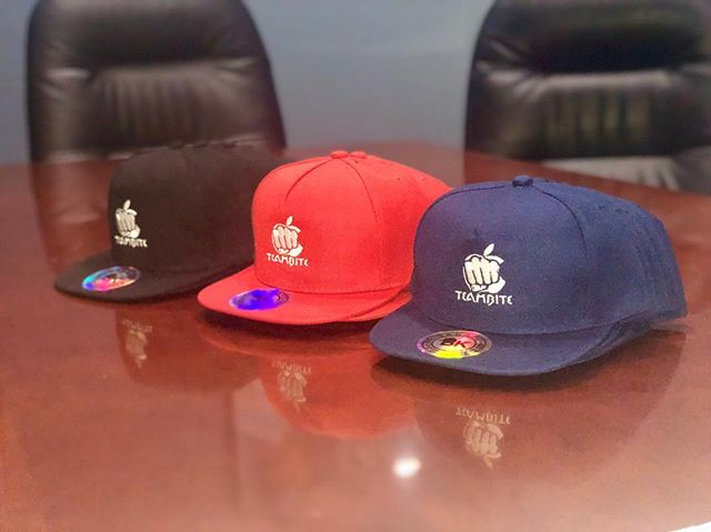 #Custom #embroidered HATS for @kiingsmoke41  Fall is coming - time to switch up the apparel. Be sure to come by!