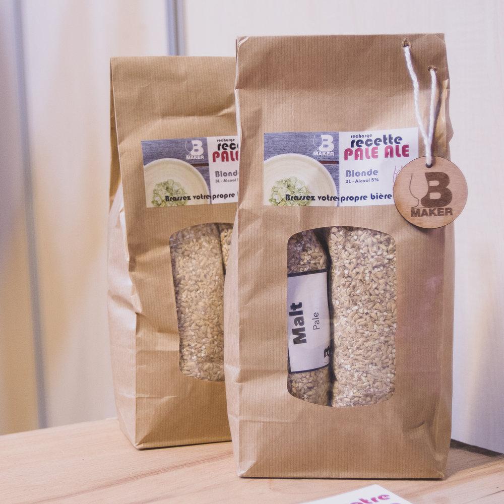 Notre tout premier packaging !