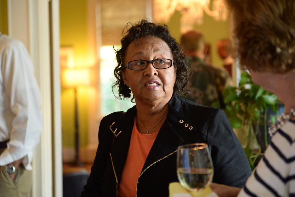 Hazel Waller - community activist and widow of NAACP leader, Putnam County.
