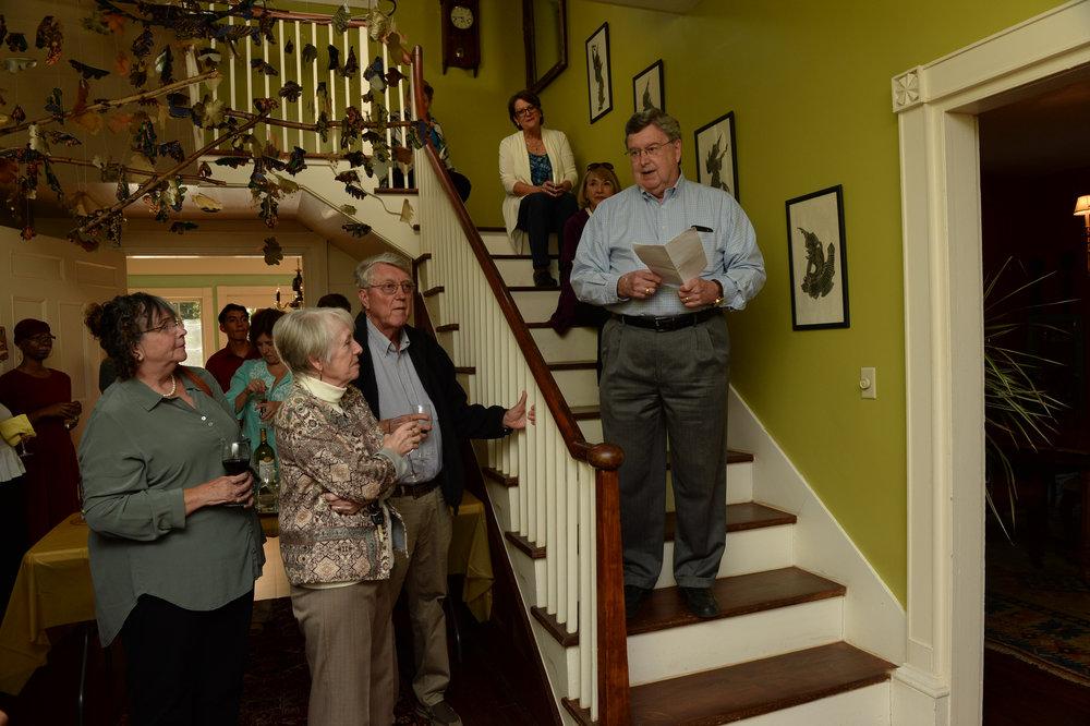 Speech from local historian - Jim Marshall