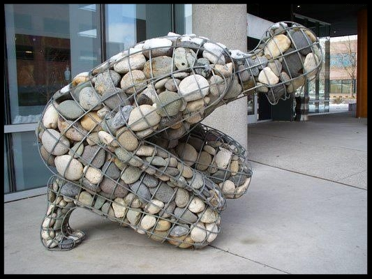 Rising Cairn, by Celeste Roberge  // Also has been called The Weight of Grief