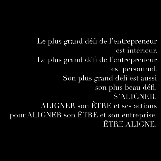 Le défi - Entreprendre, chemin initiatique