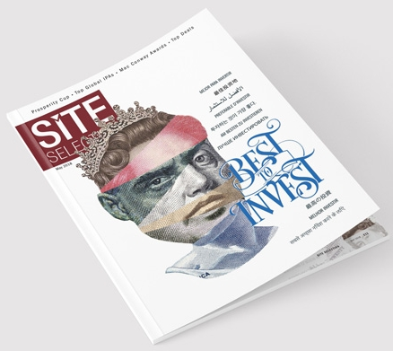 Site Selectin Magazine Cover - May 2018