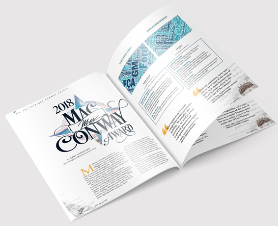 Site Selection Magazine - Mac Conway Awards