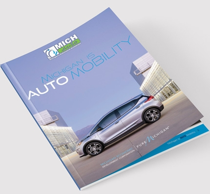 Michigan is AutoMobility Cover