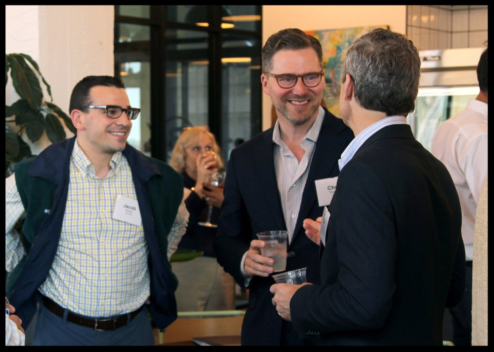 Startups network at the launch of the PlanetM Landing Zone.
