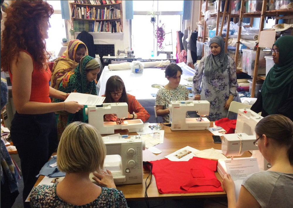 CLASSES   From English language courses to professional standard training in fabric and textiles, we have a range of classes running every week.   Learn more