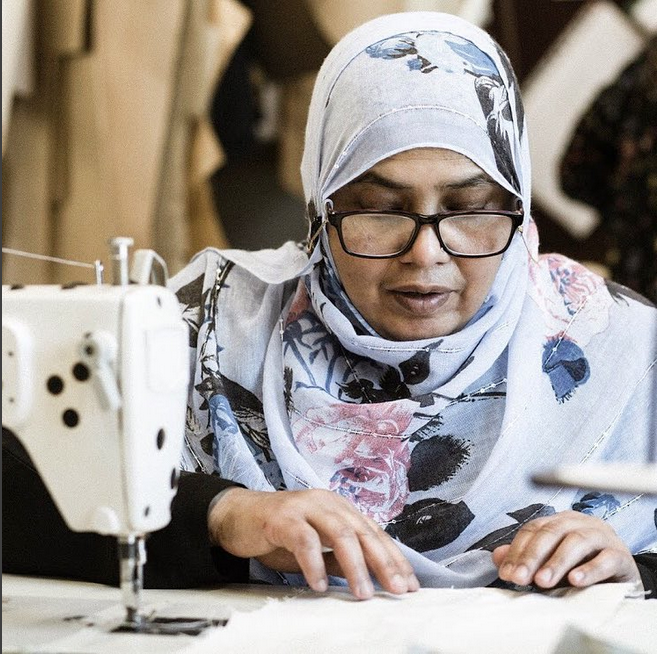 FABRICWORKS   Our social enterprise runs courses for long-term unemployed women to build skills and gain experience, with an opportunity to make for London's top brands.   Learn more