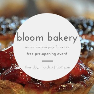 bloom bakery