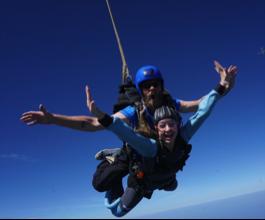 Tessa Sky Diving