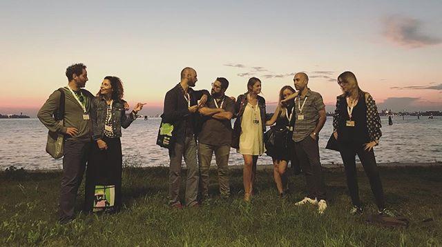 Venice Sunsets . . . #Venice #sunset #sundown #settimanainternazionaledellacritica #biennalecinema2018 #friends #family