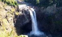 July Snoqualmie Falls