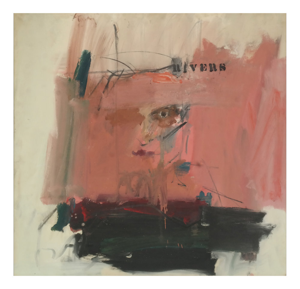 Lot 1 - Larry Rivers, Self Portrait