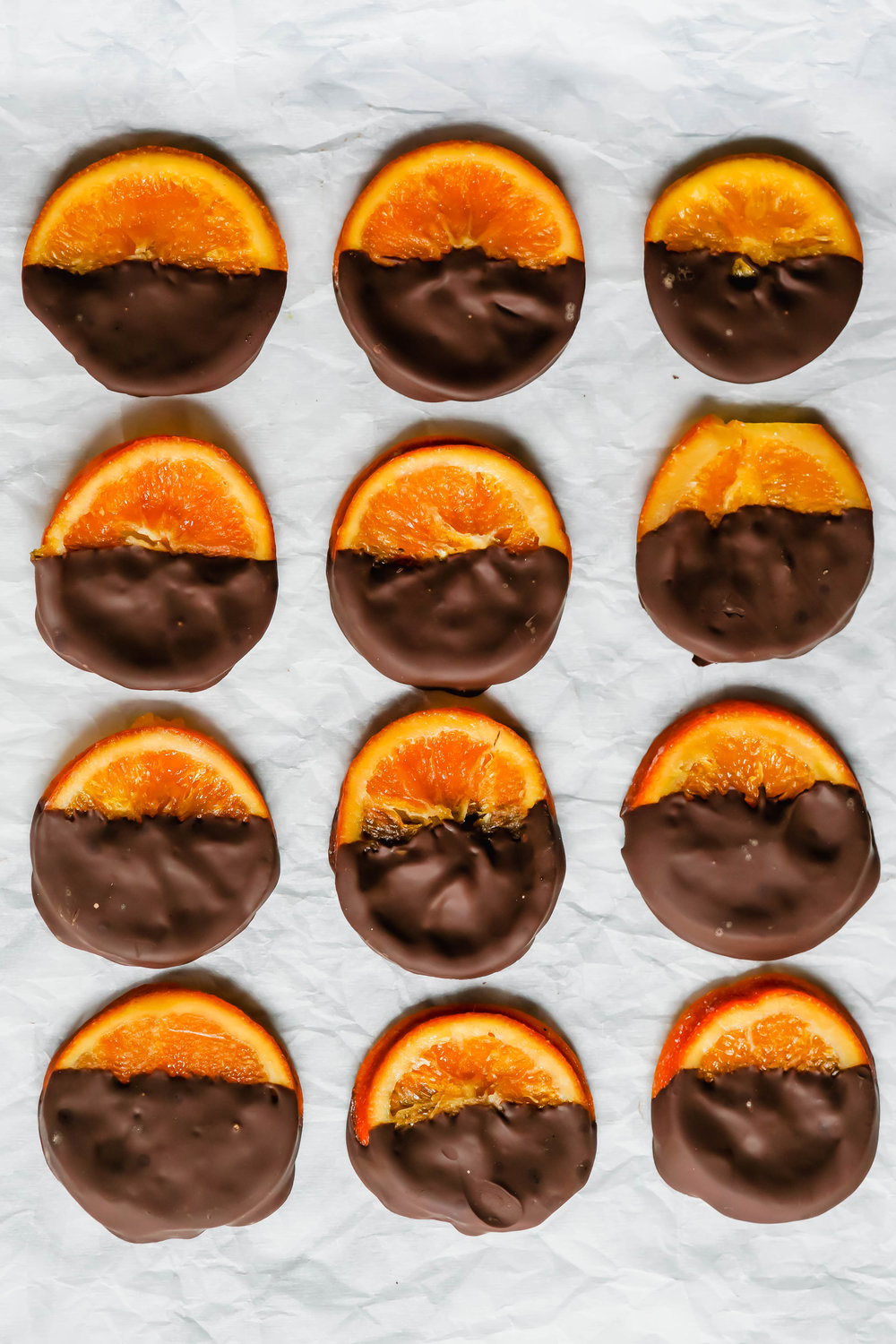 Chocolate Covered Candied Orange Slices
