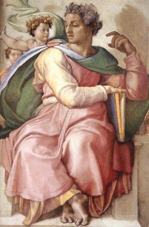 Isaiah the Prophet by Michelangelo