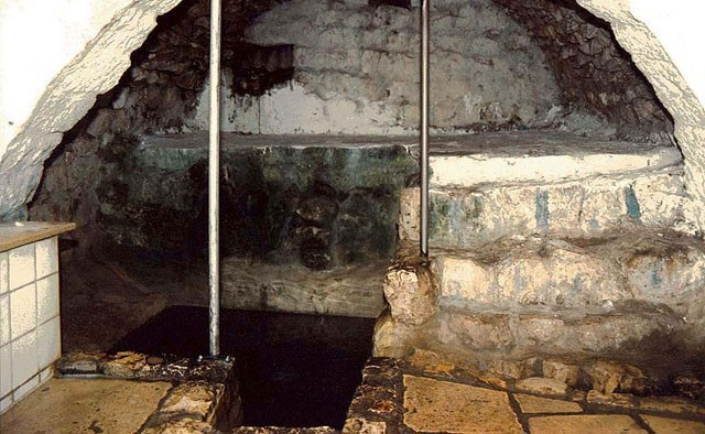 The Mikveh (Ritual Bath) of the Ari Ha'kadosh the Great Kabbalist from the 16th Century is in Tzfat (Sefad), which is also where the Prophet Hosea is buried.