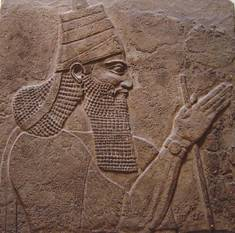 Tiglath-Pileser III—stela from the walls of his palace (British Museum, London) he was the Assyrian King who exiled some of the Jews from the Northern kingdom of Israel