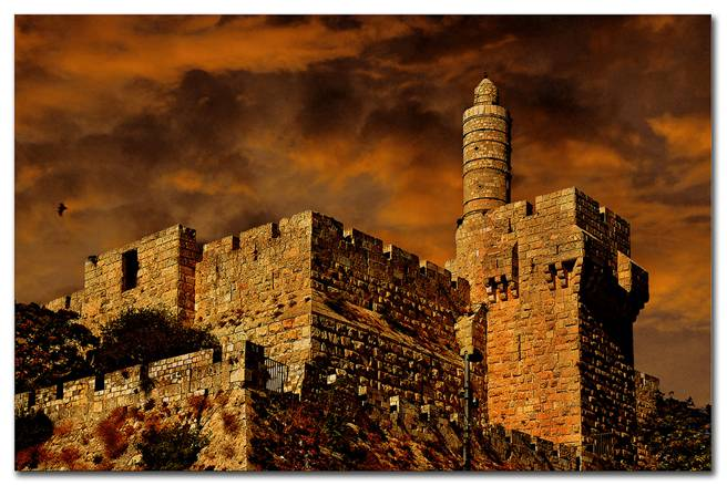 Migdal David ~ The Tower of David ~ Jerusalem