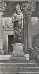 The Statue of King Nebuchadnezzar, King of  Babylon .Ezekiel predicts that Nebuchadnezzar will destroy the Egyptians.