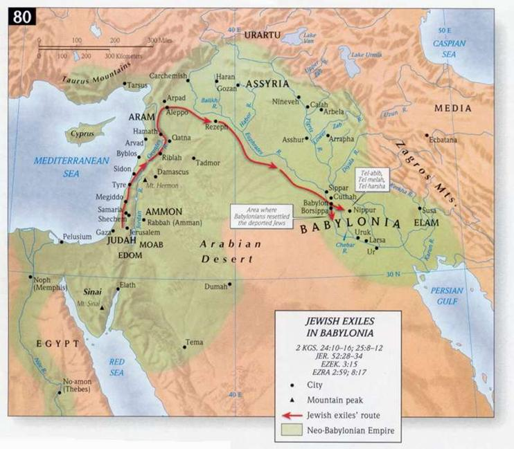 Map: Holman Bible Atlas