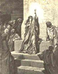 Gustave Dore's interpretation of the prophetess Deborah