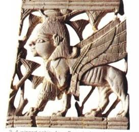 One interpretation of a Cherub carved in Ivory