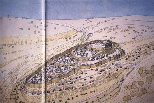 Ir David or the City of Jerusalem from the time of King David