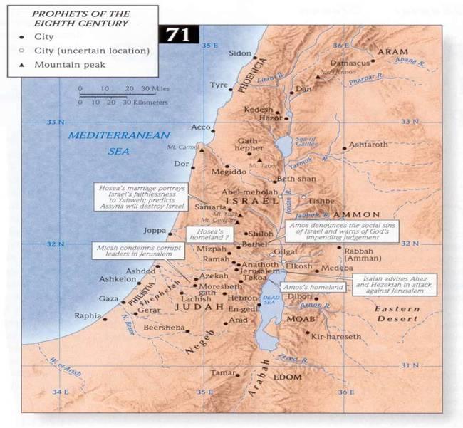 Maps: Coleman Bible Atlas