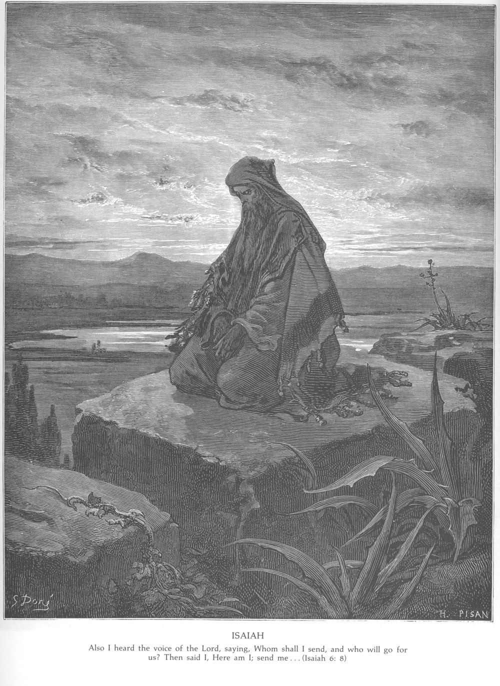"""""""Isaiah"""" by Gustave Doré"""